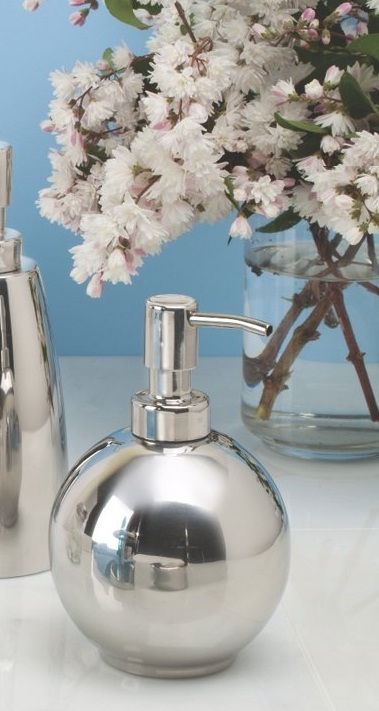 Bình đựng dầu gội, sữa tắm tròn Forma SS Interdesign