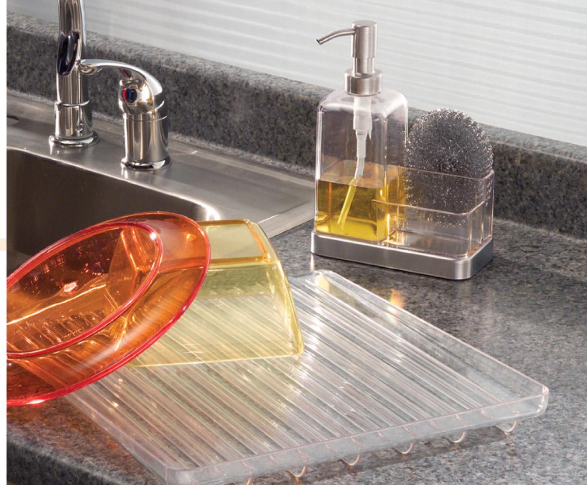 Bình đựng dầu gội, sữa tắm & mút tắm Forma 2 Interdesign
