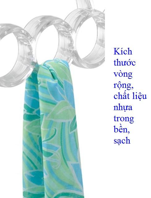 Móc treo khăn 7 vòng Clarity Interdesign