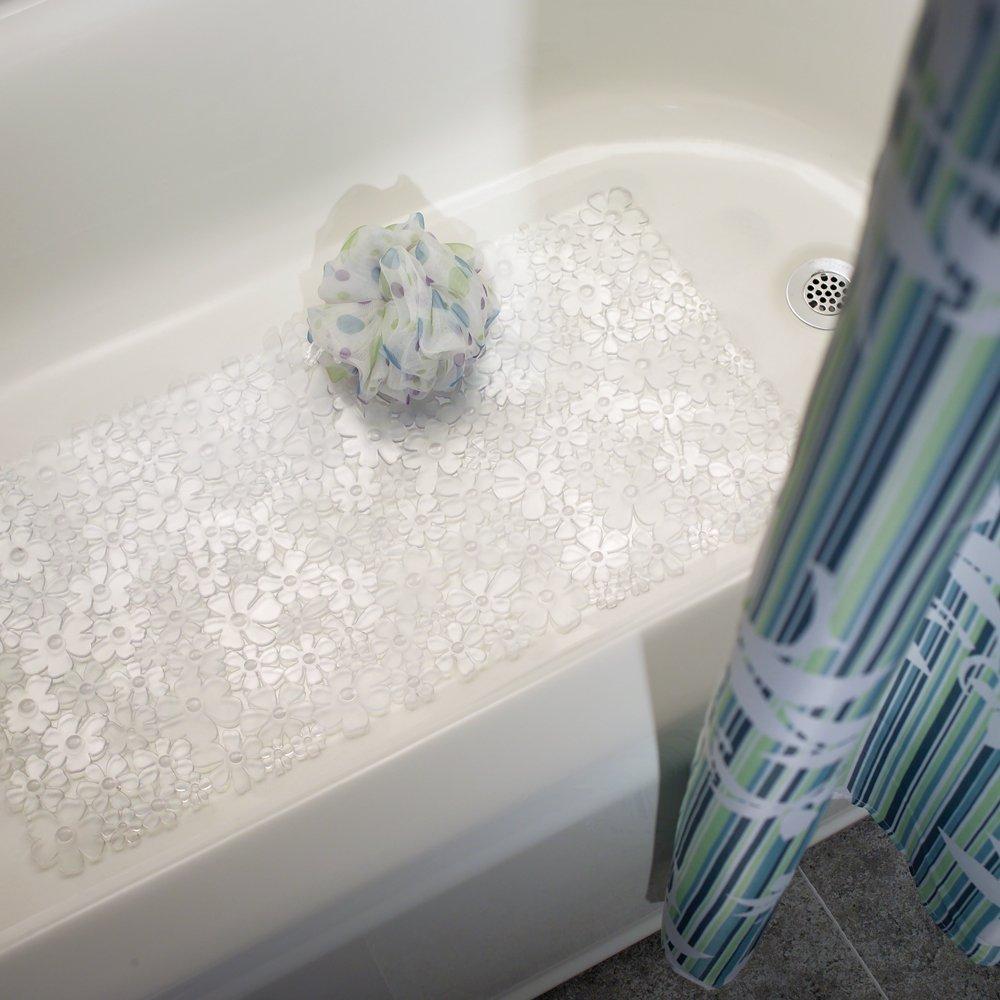 Thảm nhựa nhà tắm hình hoa Blumz Interdesign