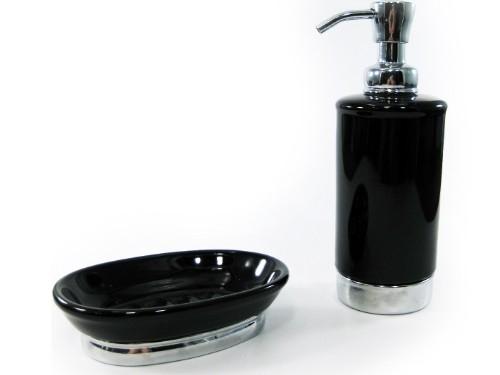 Bình đựng dầu gội, sữa tắm York Interdesign (Blk)