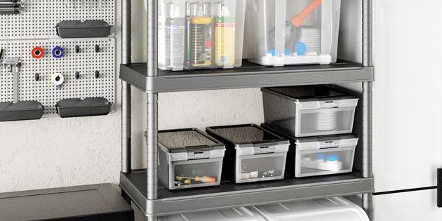 Hộp chứa đồ Twin Box giúp tiết kiệm diện tích lưu trữ