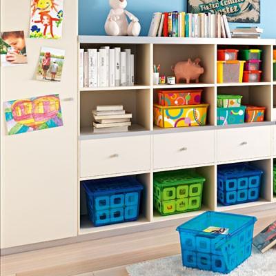 Ngôi nhà gọn gàng với bộ hộp chứa đồ C-Box Kis