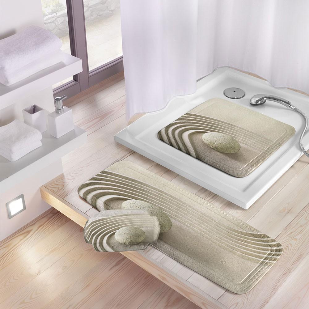 thảm nhà tắm chống trượt với họa tiết 3D đẹp mắt