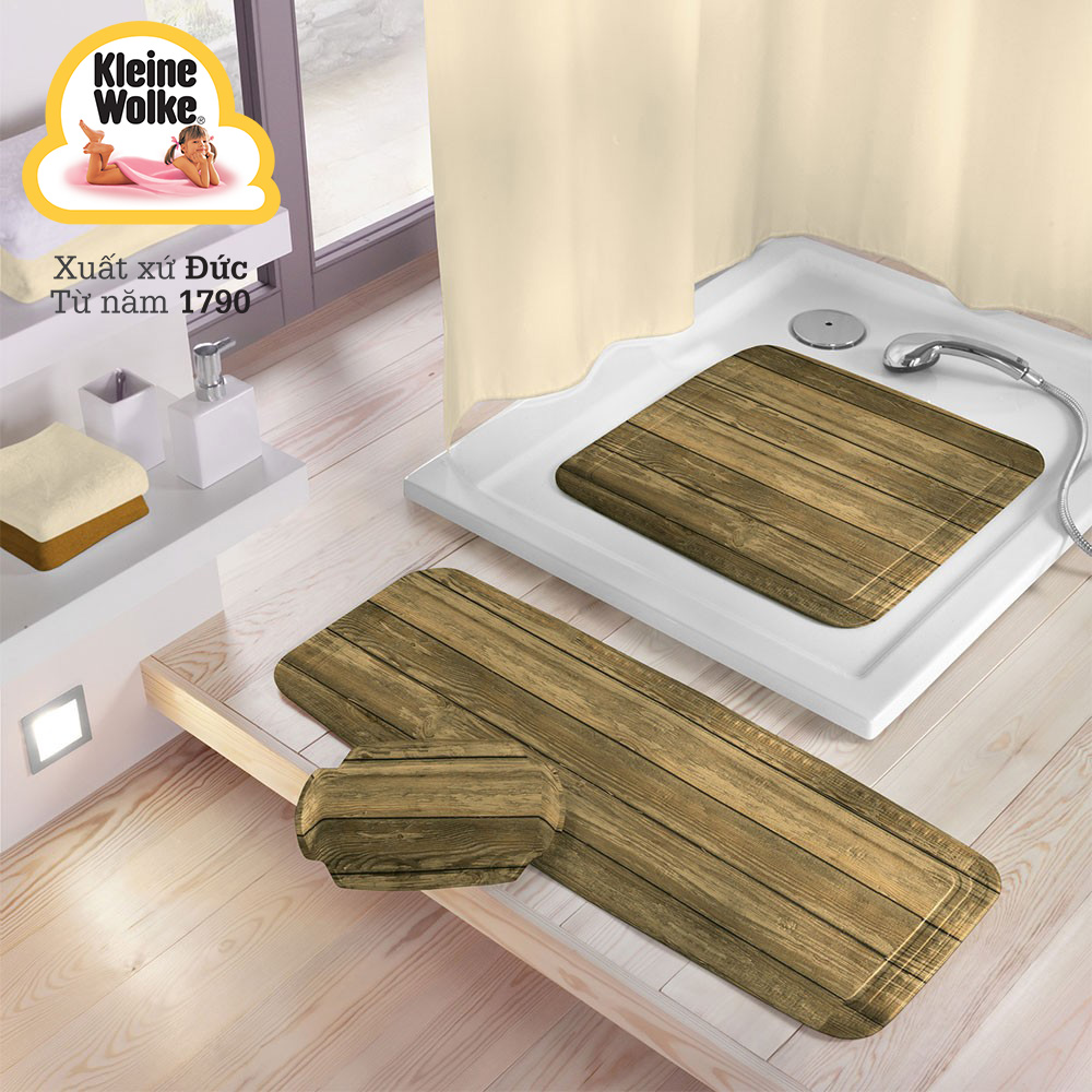Thảm nhà tắm chống trơn trượt bằng nhựa bền mang lại cảm giác thoải mái cho người dùng